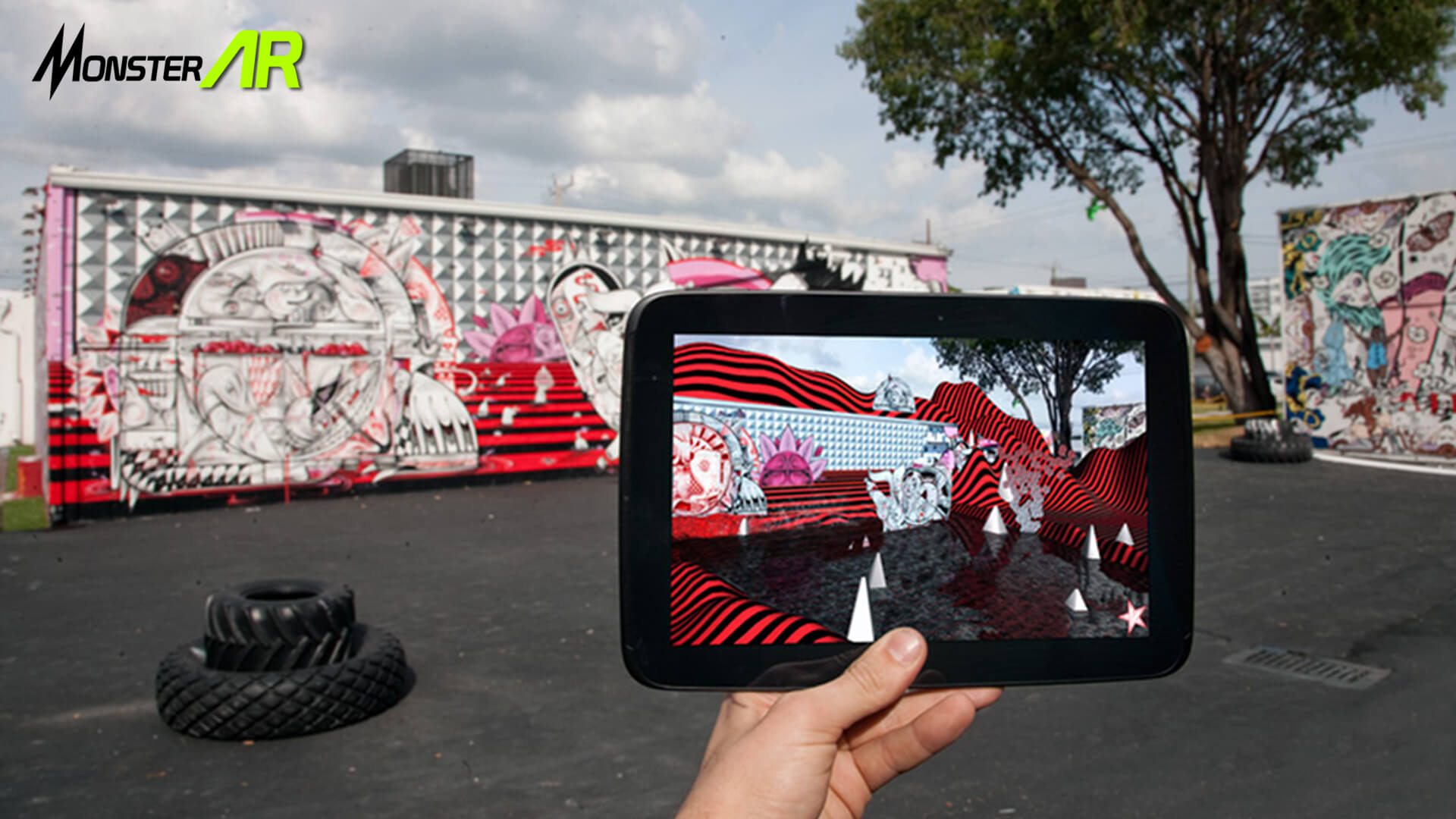 augmented reality graffiti