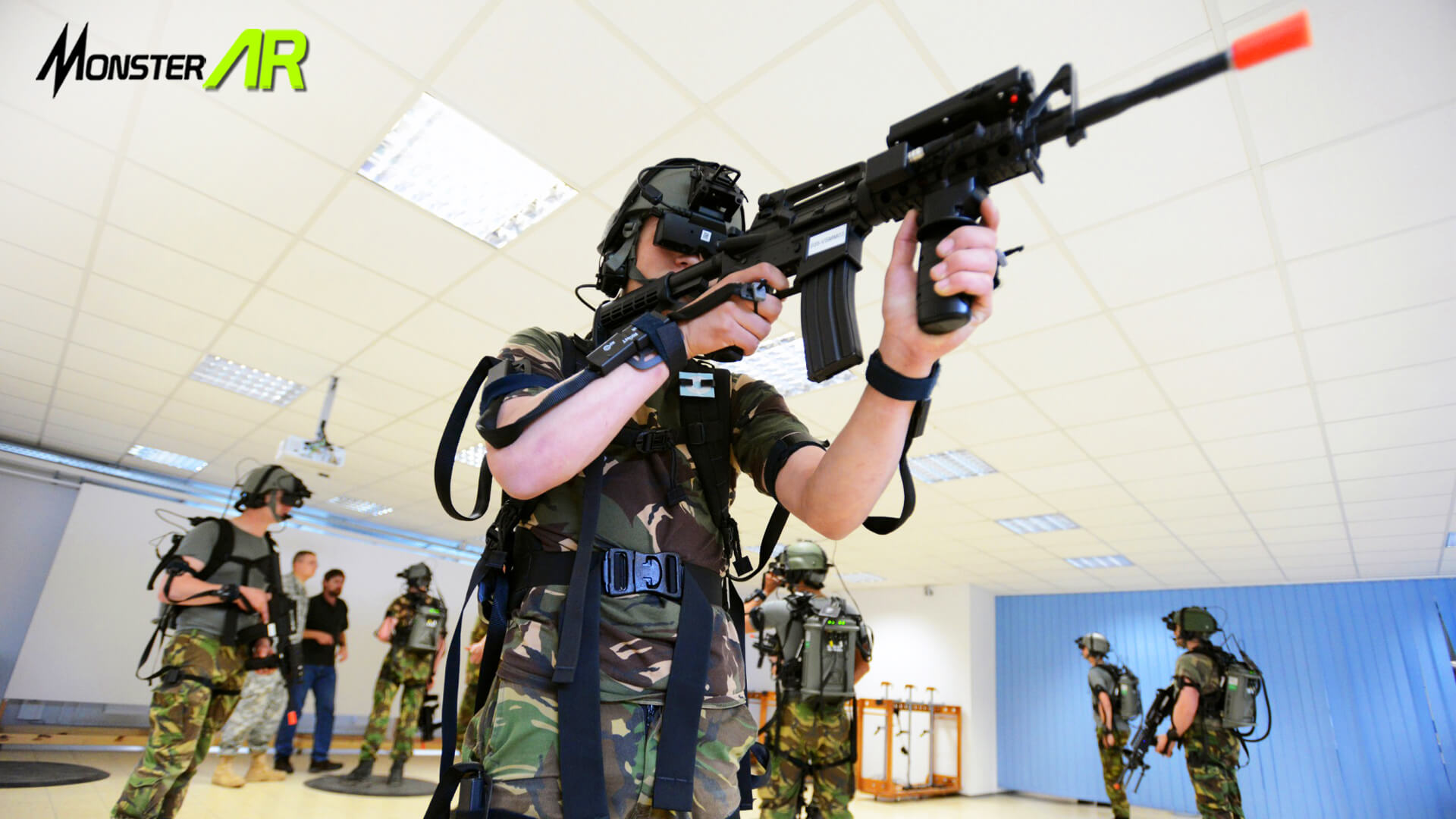 virtual reality military