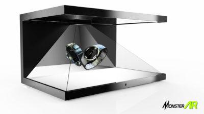 3D hologram box