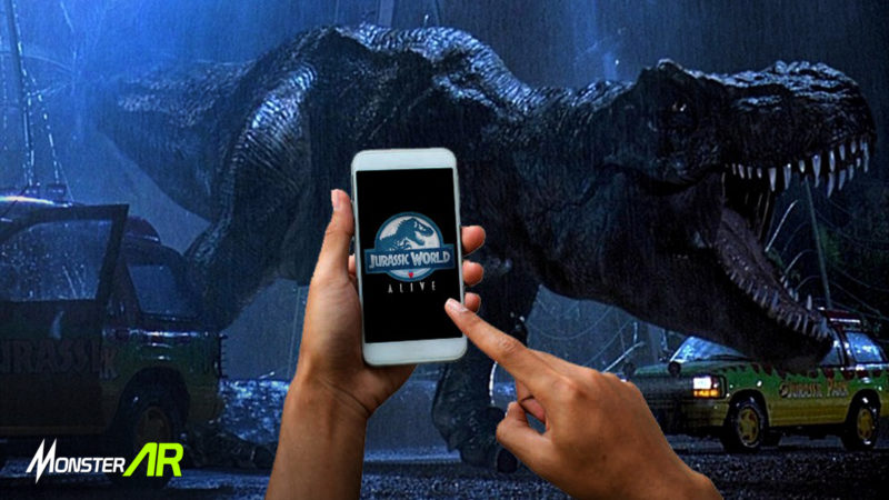 game ar jurassic world
