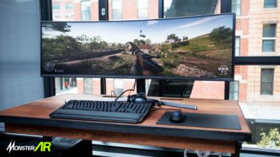 monitor layar lengkung