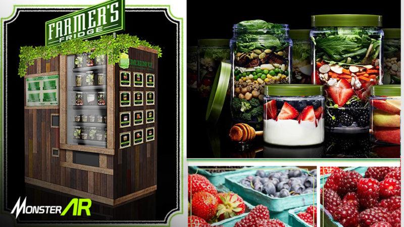 Vending Machine Salad