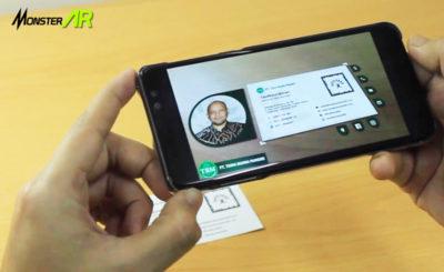 kartu nama augmented reality