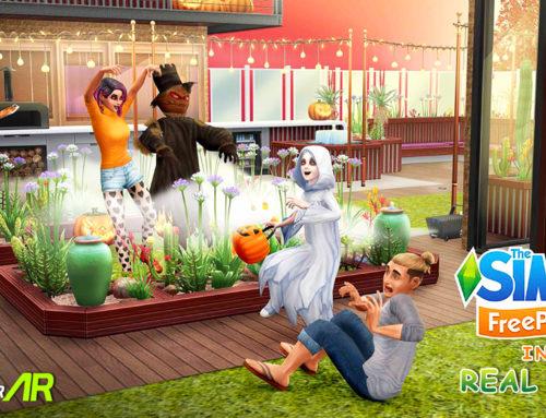 The Sims Freeplay Menambahkan Fitur AR ke Dalam Permainan