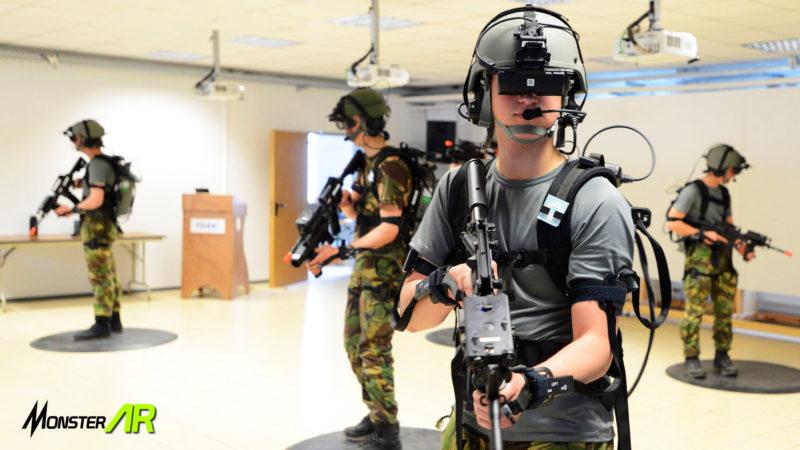 pelatihan tentara vr