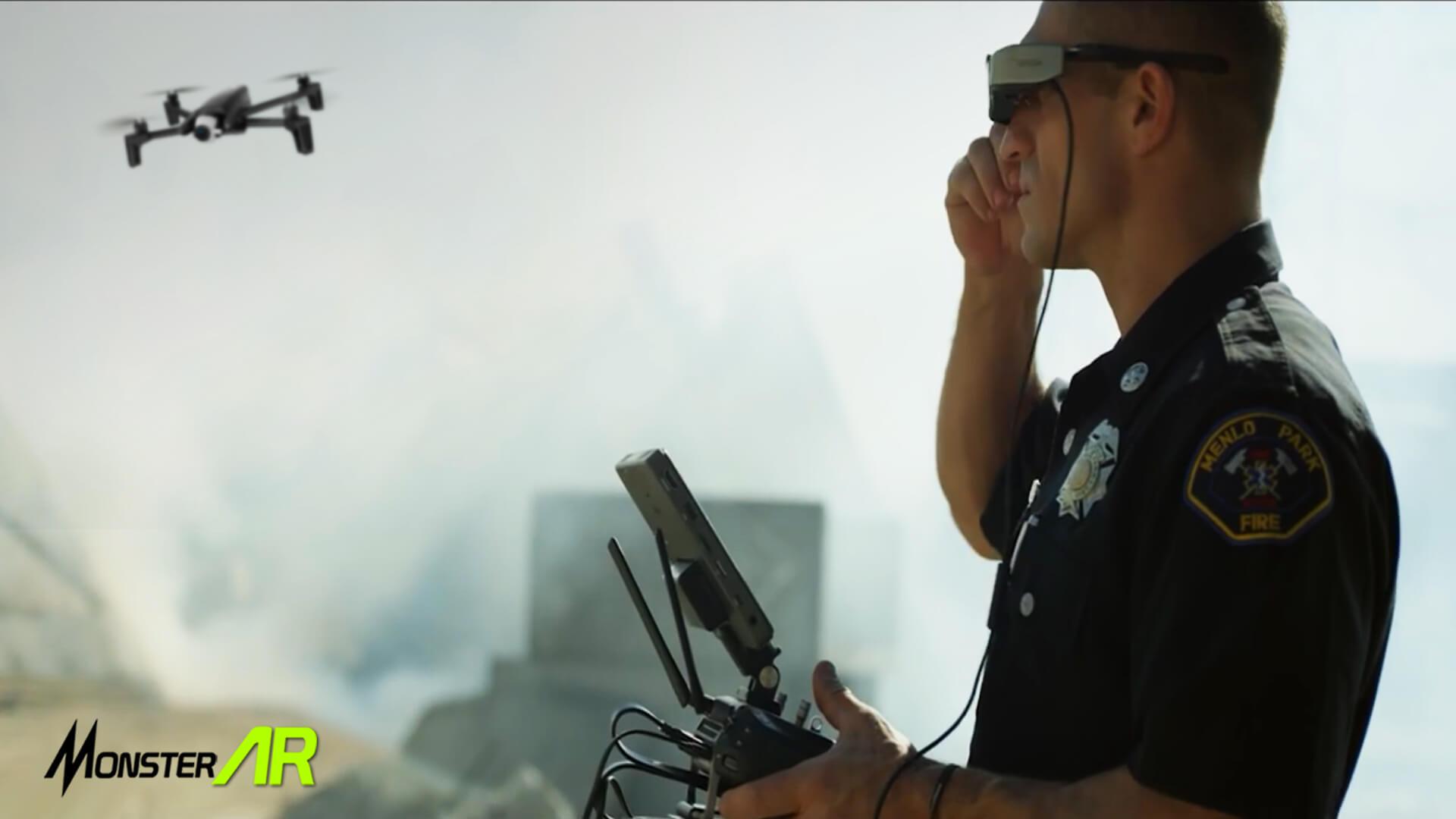 kacamata ar dan drone