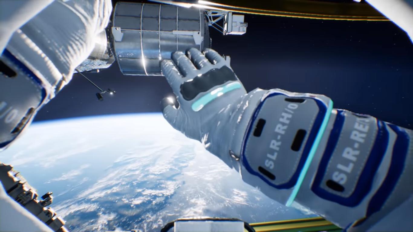 simulasi vr luar angkasa