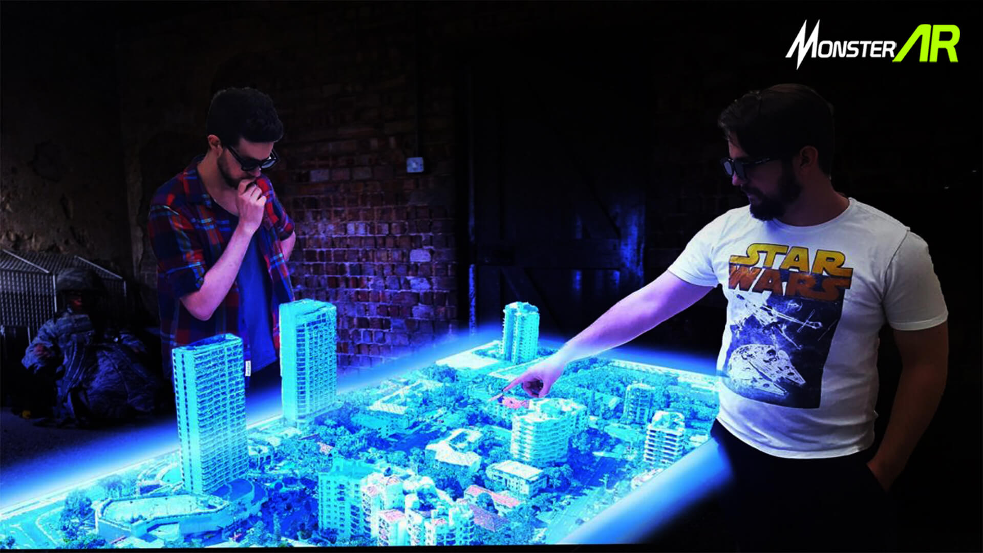 teknologi hologram projection