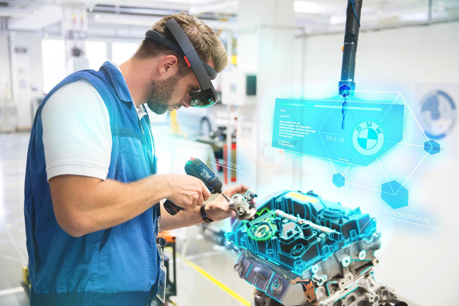 ar dalam industri otomotif