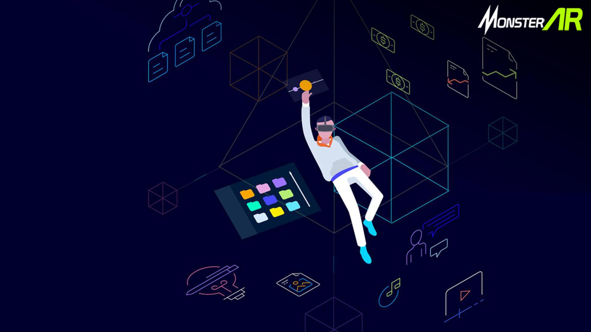 augmented reality dan blockchain