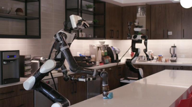 vr untuk melatih robot toyota