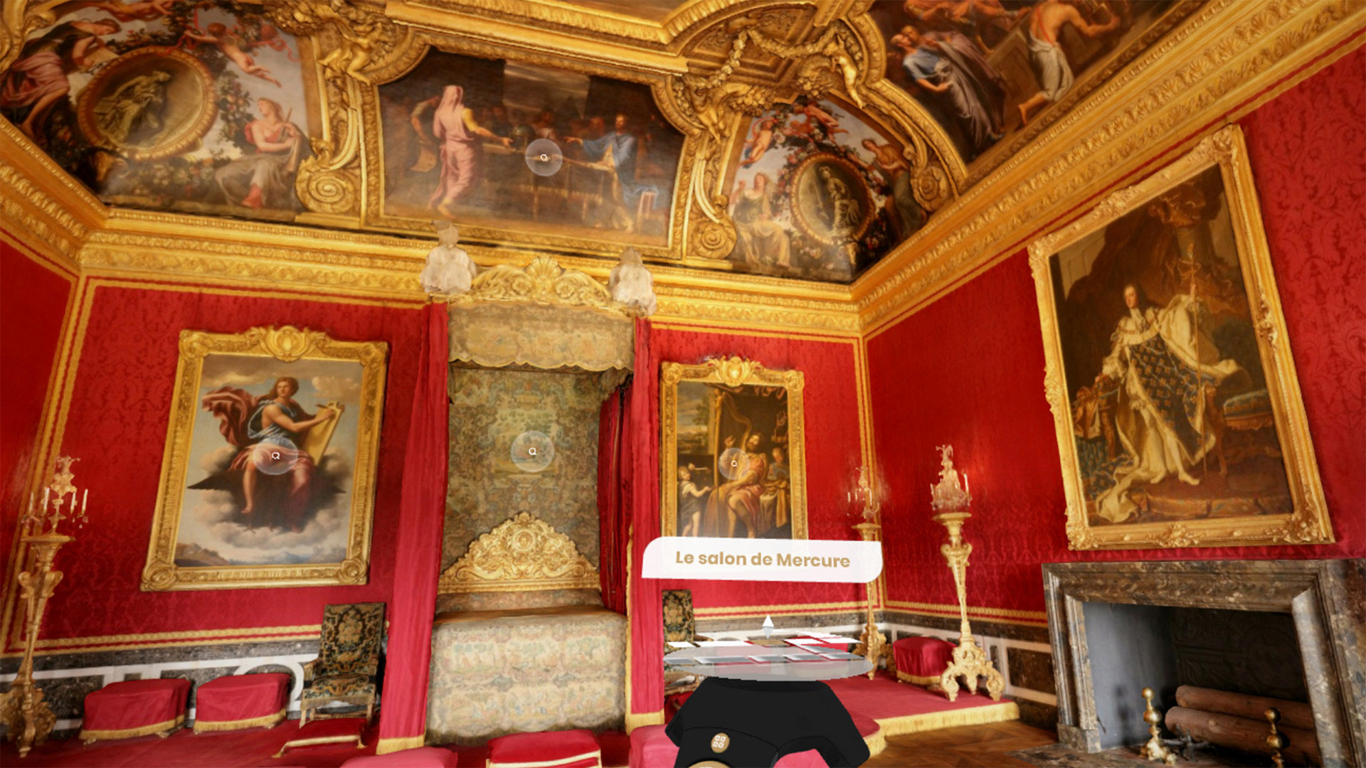 vr tour gratis Palace of Versailles