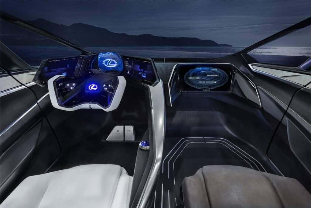 augmented reality dan lexus