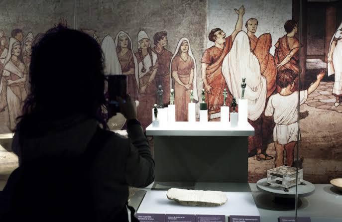 kebudayaan di museum