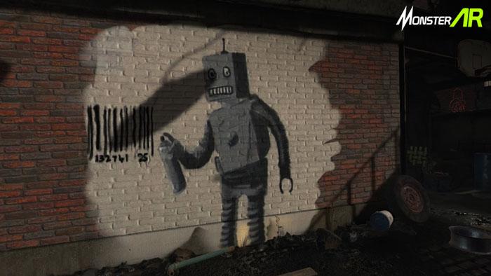 realitas virtual seni grafiti