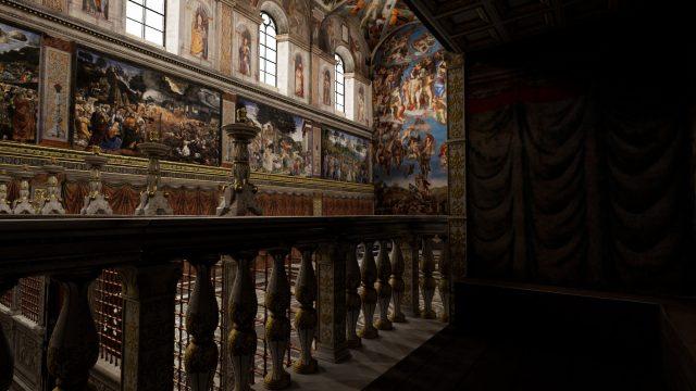 Tour VR sistine chapel
