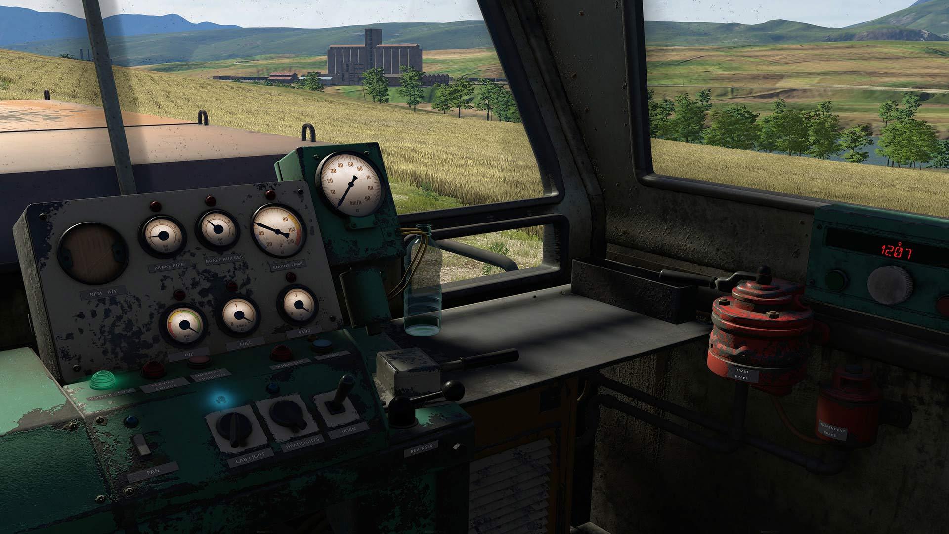 ismulator lokomotif kereta