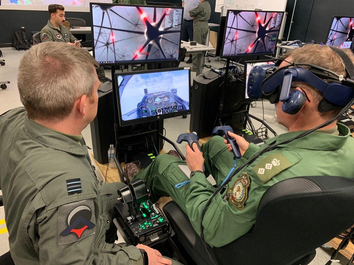 pelatihan pilot jet tempur