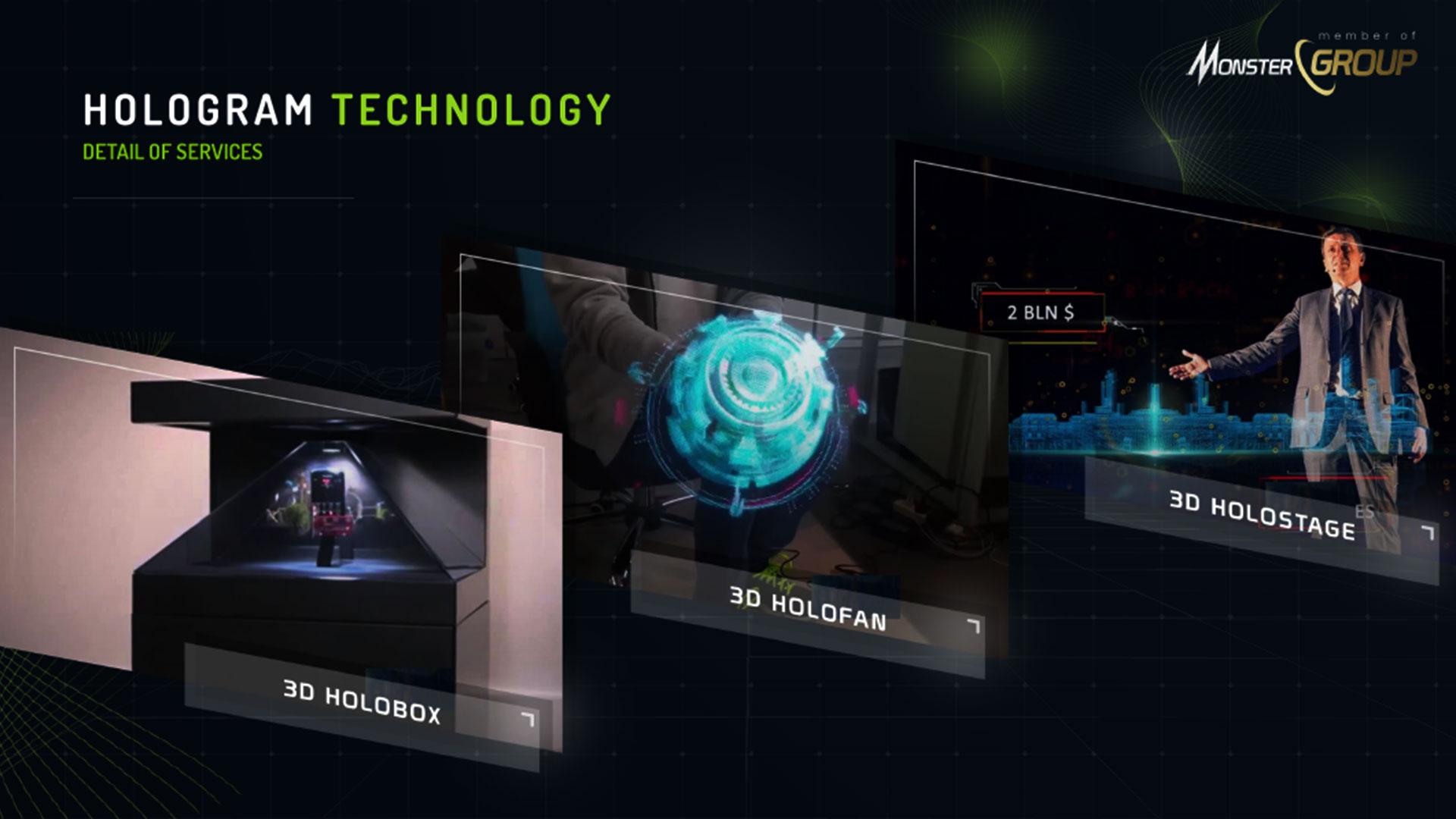 layanan teknologi hologram