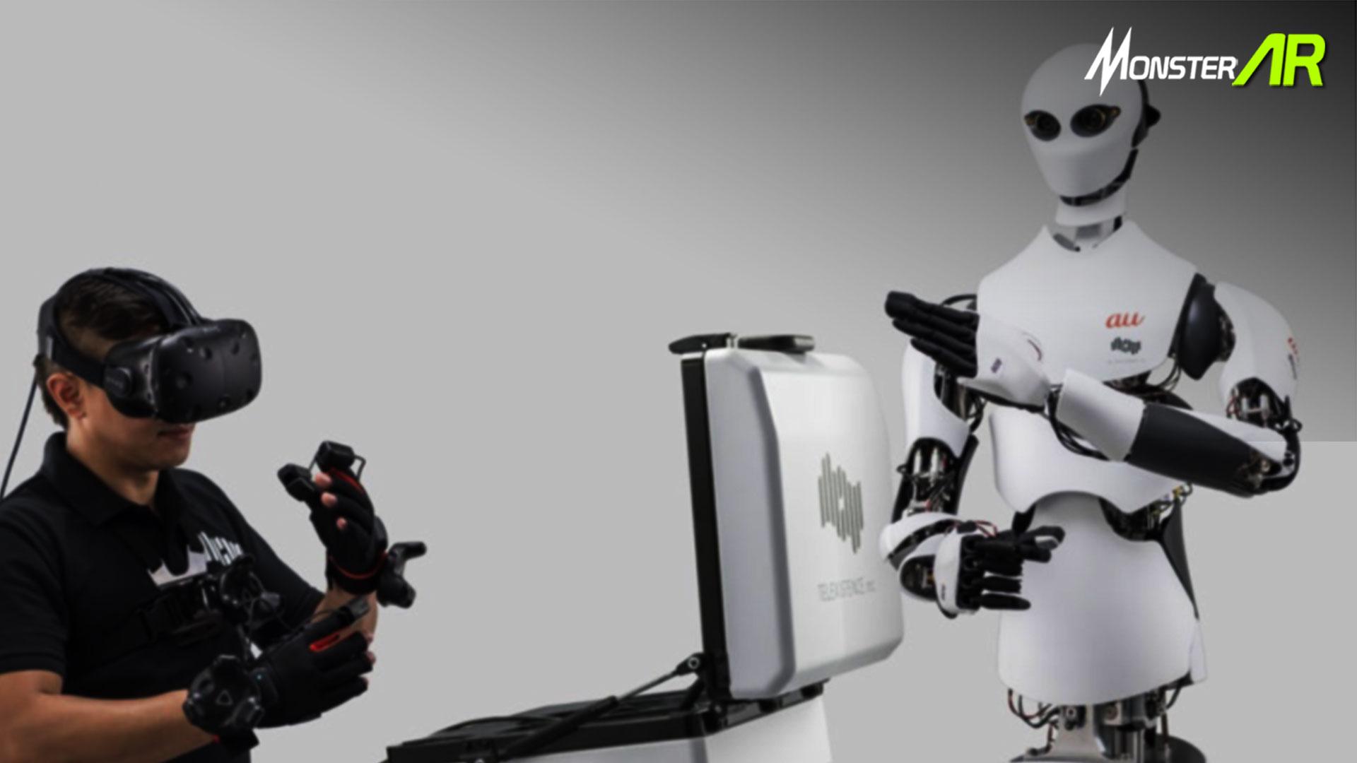 Robot Dengan Kendali VR