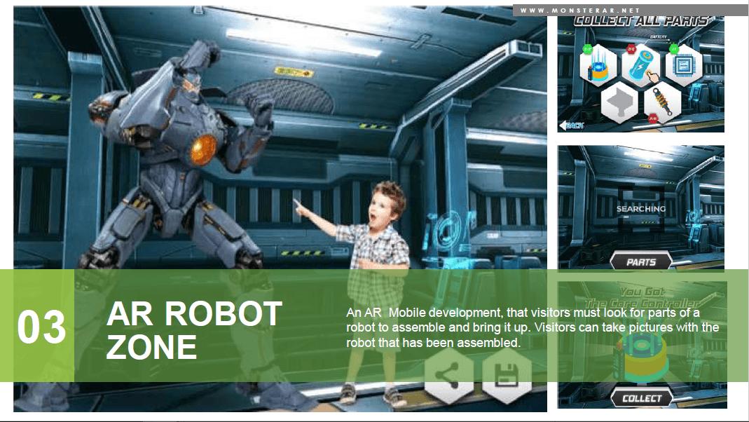 wahana zona robot