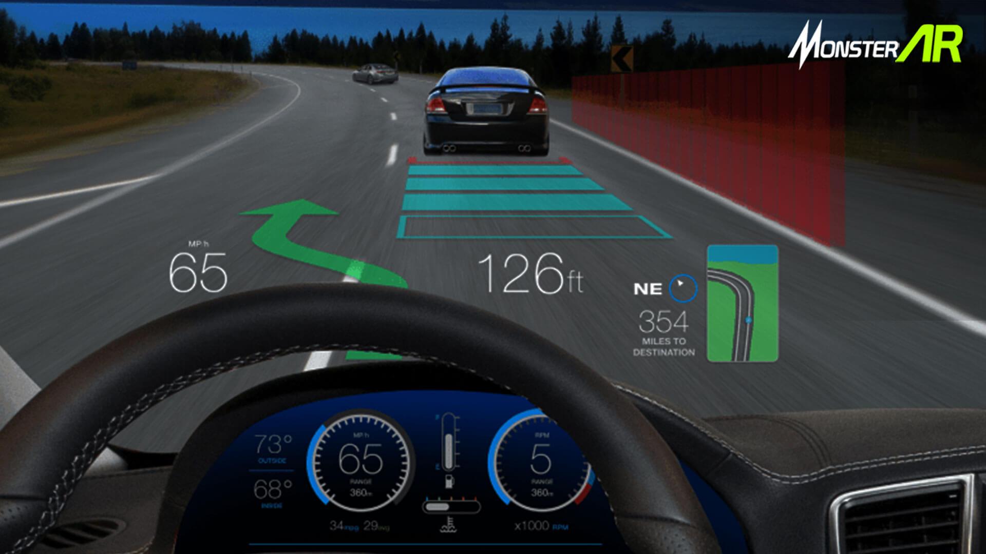 Augmented Reality Teknologi HUD
