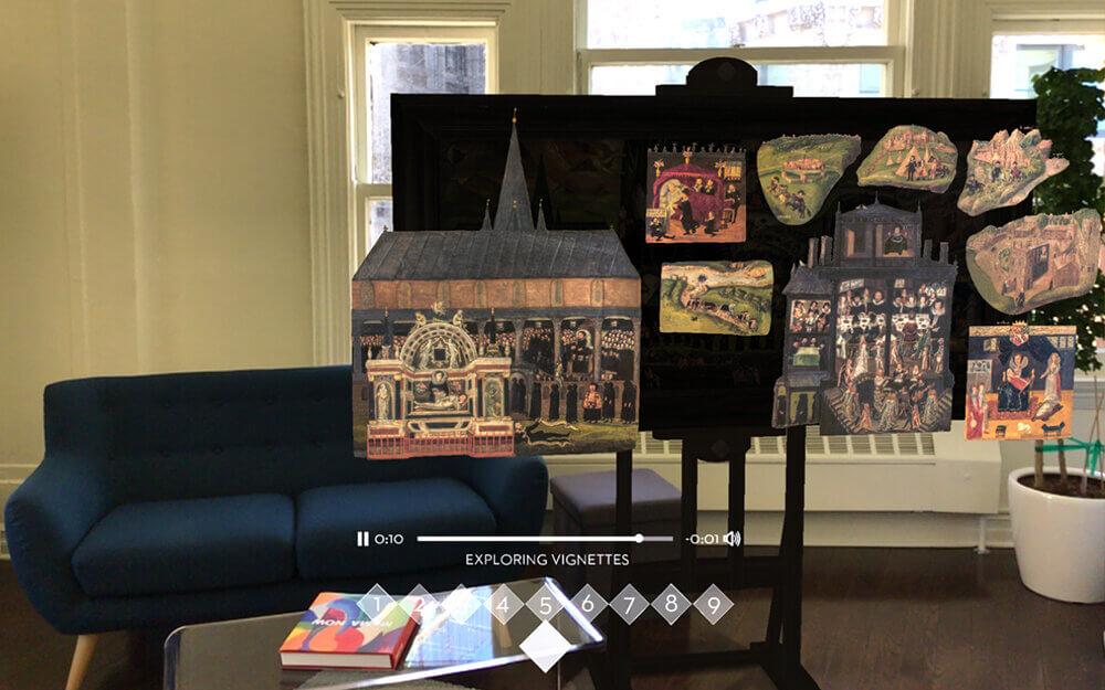 teknologi imersif dalam museum