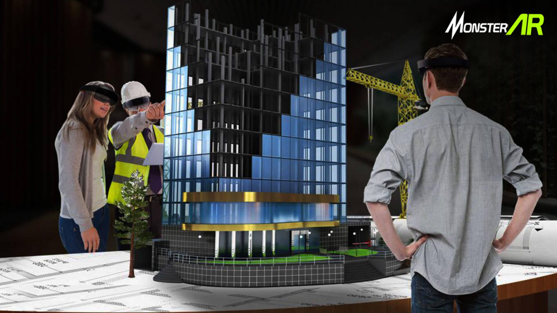 Augmented Reality Arsitektur