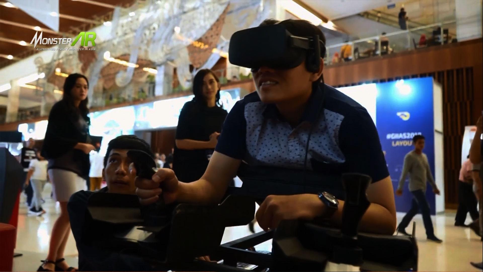 VR untuk Pameran Dagang